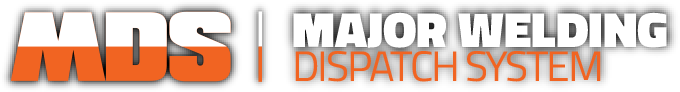 Major Welding Dispatch System Logo
